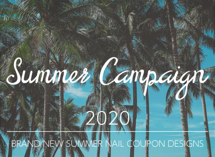 ネイルサロンFASTNAILのお得な夏の特別キャンペーン