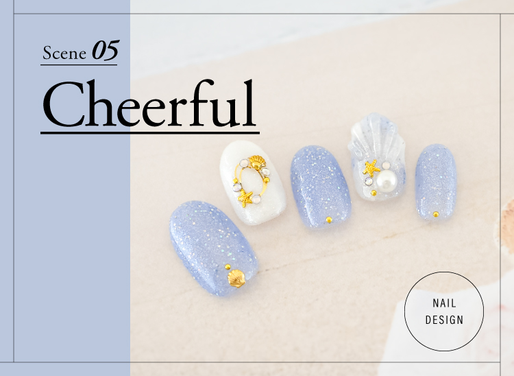 最新 夏ネイルデザイン Cheerful(チアフル)ネイルデザイン